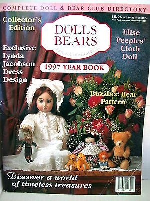 DOLLS BEARS  & COLLECTABLES  techniques patterns clothes tips ideas VOL  3  NO 5
