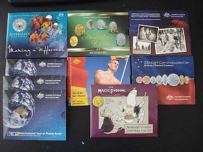Australia Mint Set 2003 2004 2005 2006 2007 2008 inc Baby Bulk Ideal Resell #BK1