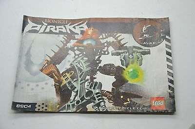 Lego Bionicle Piraka 8904 Instruction Manual Book Booklet Only