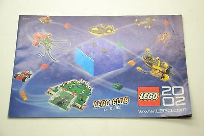 Lego Club 2002 Brochure Book Booklet Only