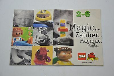 Lego Duplo 2001 Brochure Book Booklet Only