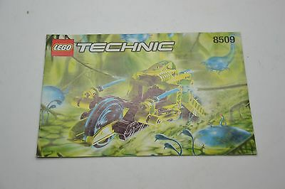 Lego Technic 8509 Instruction Manual Book Booklet Only