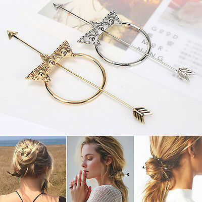 Bohemia Cupid's Arrow Stars Super Beauty Hairpin Hair Clip Women Hair Ornaments