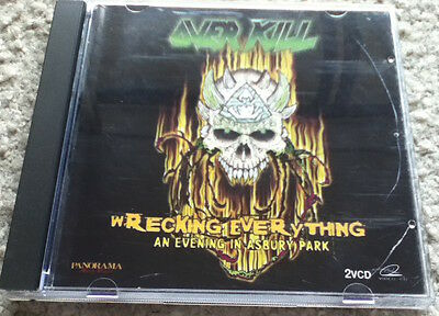 Overkill live in Asbury Park (Wrecking Everything)