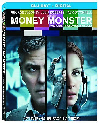 Money Monster (Blu-ray Disc, 2016, Canadian Bilingual)
