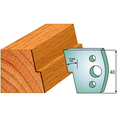 SPINDLE MOULDER CUTTERS - Knives 40mm - profile 027 Knives Only