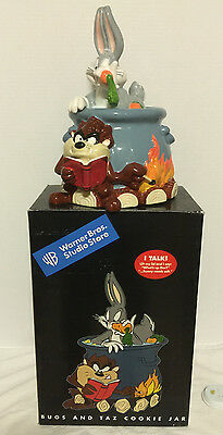 "Warner Bros. ""Bugs and Taz""  Cookie Jar"