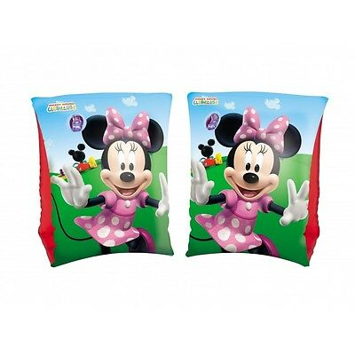 Minnie Mouse ARMBANDS Disney Mickey Clubhouse Swimming Pool Holiday Garden BLUE