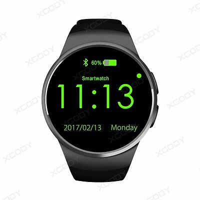 KW18 Bluetooth Smart Watch Orologio Intellige SIM Per iPhone Android Samsung LG