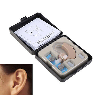 NEW Small In The Ear Invisible Sound Amplifier Adjustable Tone Hearing Aids