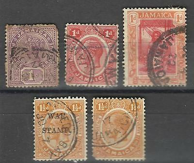 Lot de timbres ancien Jamaique Jamaica