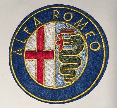 ALFA ROMEO Iron On / Sew On Badge