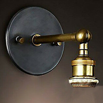 Modern Vintage Industrial Wall Light Lamp Fixture Rustic Sconce Fitting Durable