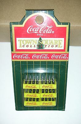 PACK Coca-Cola 6 boxesX12 Bottles Coca-Cola(R) Brand TOWN SQUARE COLLECTION.1:24