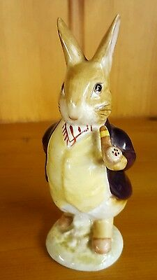 Beswick Beatrix Potter Figure ~ Mr Benjamin Bunny ~ Pipe Out ~ Bp2A