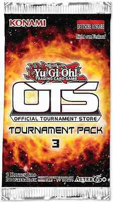 YUGIOH  TOURNAMENT PACK 3 OTS BOOSTER PACK NEW  SEALED Spanish español yu-gi-oh