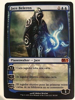 Magic The Gathering Jace Beleren Planeswalker
