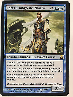 Magic The Gathering Teferi, Mago De Zhalfir