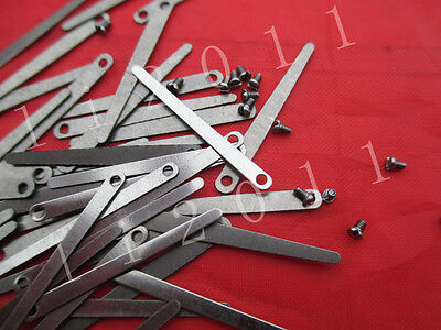 New 2set=8pcs  leaf springs +screws,alto/tenor saxophone( or soprano sax=14 pcs)