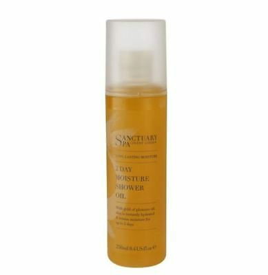 Sanctuary Spa Long Lasting 2 Day Moisture Shower Oil Luxury Xmas Cleanser 250ml