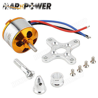 NEW MARS POWER MA2212 KV1400 Brushless Motor for DJI Phantom F450 F500 F550 OZ