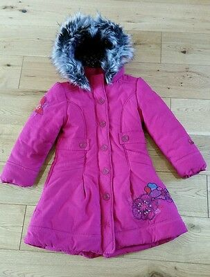 Catmini Girls Age 6 Coat with Hood