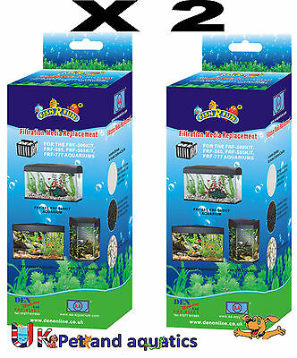 Fish R Fun, X2 FRF-035CT spare media for FRF-500, FRF-585, FRF-777 tanks