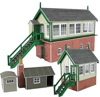 Metcalfe Kits Pn133 Signal Box Set  'n' Scale