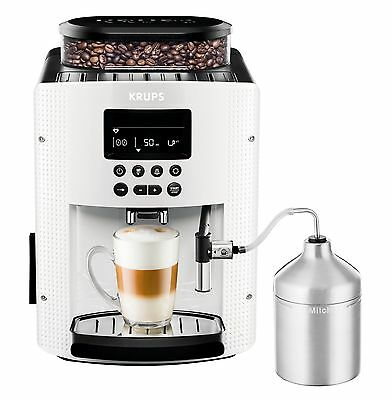 KRUPS Automatic Coffee Machine 1.8 l 15 bar AutoCappuccino System LC Display ...