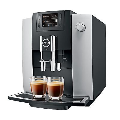 JURA 15079 E6 Coffee Machine Platinum