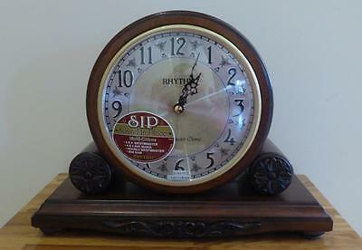 Sound In Place Multi-chime Mantle Clock Westminster Chime + Ave Maria REDUCED