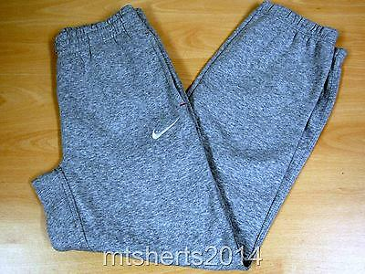 Childrens Nike Warm Tracksuit Bottoms Trousers Grey 12/13 Yrs FE19 NEW