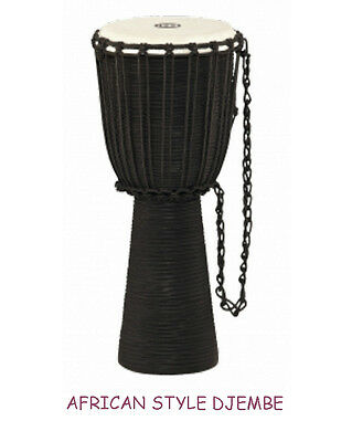 Djembe Pro Schall-Loch Mahagoni Holz Hand Percussion African Style