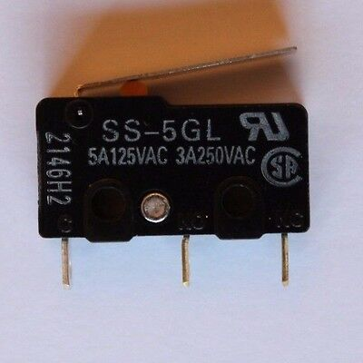 Omron Ss-5Gl Hinge Lever Microswitch