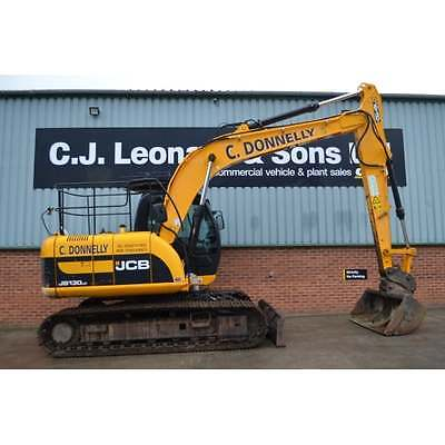 2010 Jcb Js130Lc Excavator With Blade Crawler 5403 Hours