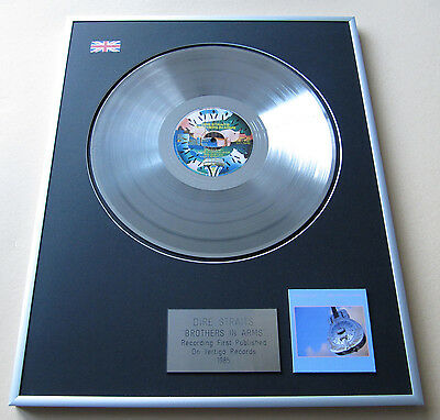 DIRE STRAITS Brothers In Arms LP Platinum Presentation Disc