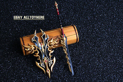 The legend of sword Chinese Sword and shield  21cm Blood Zombies 苍云套