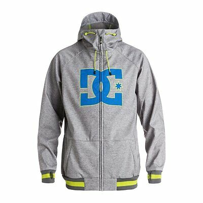 Dc Shoes Spectrum Jacket Heather Pewter Giacca Softshell Snowboard Fw 2017 New S