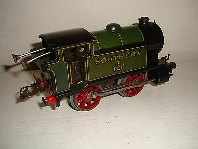 Hornby Trains O - M3 0-4-0 Tank loco-Southern (E126) c/w Good/unboxed c1936