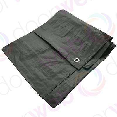Amtech Heavy Duty Waterproof TARPAULIN Ground Camping Cover Sheet 6ft x 4ft