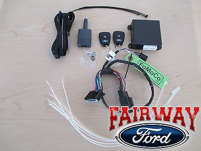 2017 Super Duty OEM Genuine Ford Remote Start & Security System Kit - Long Range