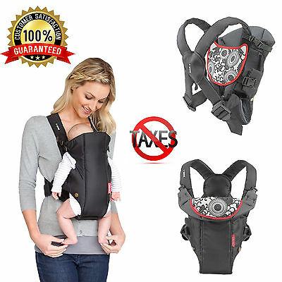 Infant Baby Carrier Compact Comfortable Infantino Newborn Front Backpack New