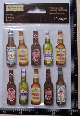 BEER BOTTLE COLLECTION Recollections Stickers