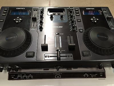 Cortex DMIX-300 DJ Controller With iPod Dock