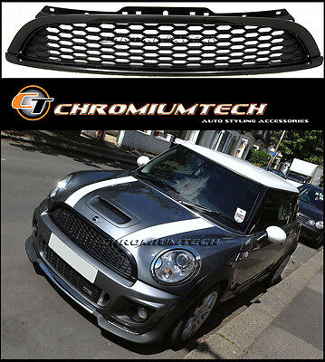 Black Grill for 2007-13 MINI Cooper/S/ONE Clubman R55 Hatch R56 Convertible R57