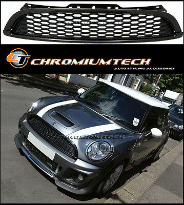Black Grill for 2007-13 MINI Cooper S/SD  Clubman R55 Hatch R56 Convertible R57