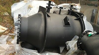 Exhaust Gas Thermal Oil Heater Th-Eg 500 By Euroboilers Garioni Naval, New!