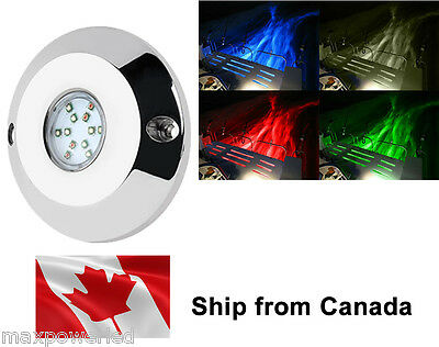 60w Marine Boat RGB Multicolor LED Underwater surface mount lights