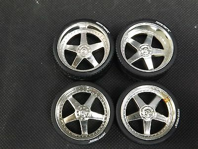 "1:18 6 Spoke Deep dish Wheels & Toyo Tyres 19"" 20"" Staggered Tuning Modifying Sm"