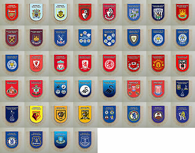 Football Pennants Premier League all clubs England United Kingdom 2016 united